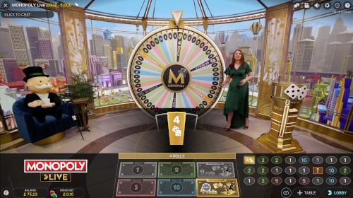 Monopoly Live Bonus Round