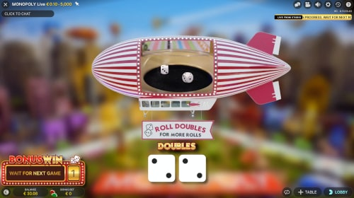 Monopoly Live Double Roll
