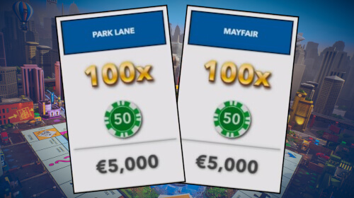 Monopoly Live Most Valuable Fields